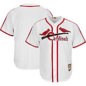 Majestic Men's Replica St. Louis Cardinals Cool Base White Cooperstown Jersey