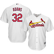 Majestic Men's Replica St. Louis Cardinals Matt Adams #32 Cool Base Home White Jersey