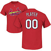 Majestic Men's Full Roster St. Louis Cardinals Red T-Shirt