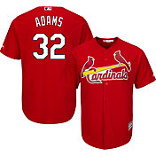 Majestic Men's Replica St. Louis Cardinals Matt Adams #32 Cool Base Alternate Red Jersey