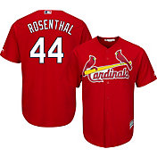 Majestic Men's Replica St. Louis Cardinals Trevor Rosenthal #44 Cool Base Alternate Red Jersey