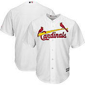 Majestic Men's Replica St. Louis Cardinals Cool Base Home White Jersey