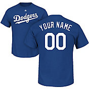 Majestic Men's Custom Los Angeles Dodgers Royal T-Shirt