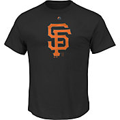 Majestic Men's San Francisco Giants Superior Play Black T-Shirt