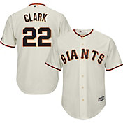 Majestic Men's Replica San Francisco Giants Will Clark #22 Cool Base Home Ivory Jersey