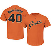 Majestic Men's San Francisco Giants Madison Bumgarner #40 Orange T-Shirt