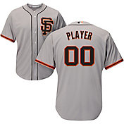Majestic Men's Full Roster Cool Base Replica San Francisco Giants Road Grey Jersey
