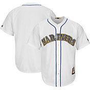 Majestic Men's Replica Seattle Mariners Cool Base White Cooperstown Jersey