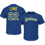 Majestic Men's Seattle Mariners Robinson Cano #22 Royal Turn Back The Clock T-Shirt