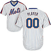 Majestic Men's Full Roster Cool Base Cooperstown Replica New York Mets 1969 White Jersey