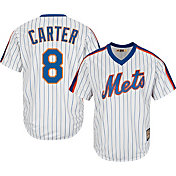 Majestic Men's Replica New York Mets Gary Carter Cool Base White Cooperstown Jersey