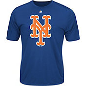 Majestic Men's New York Mets Cool Base Royal Performance T-Shirt
