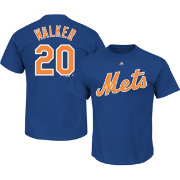 Majestic Men's New York Mets Neil Walker #20 Royal T-Shirt