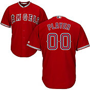 Majestic Men's Full Roster Cool Base Replica Los Angeles Angels Alternate Red Jersey