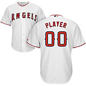 Majestic Men's Full Roster Cool Base Replica Los Angeles Angels Home White Jersey