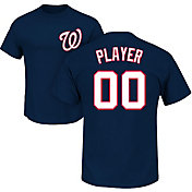 Majestic Men's Full Roster Washington Nationals Navy T-Shirt
