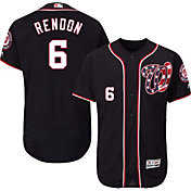Majestic Men's Authentic Washington Nationals Anthony Rendon #6 Alternate Navy Flex Base On-Field Jersey