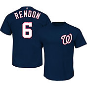 Majestic Men's Washington Nationals Anthony Rendon #6 Navy T-Shirt