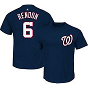 Majestic Triple Peak Men's Washington Nationals Anthony Rendon Navy T-Shirt