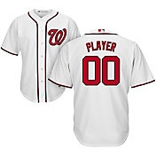 Majestic Men's Full Roster Cool Base Replica Washington Nationals Home White Jersey