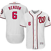 Majestic Men's Authentic Washington Nationals Anthony Rendon #6 Home White Flex Base On-Field Jersey