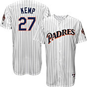 Majestic Men's San Diego Padres Matt Kemp #27 White Turn Back The Clock Authentic Flex Base Jersey