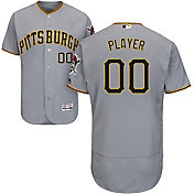 Majestic Men's Full Roster Authentic Pittsburgh Pirates Flex Base Road Grey On-Field Jersey