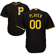 Majestic Men's Full Roster Cool Base Replica Pittsburgh Pirates Alternate Black Jersey