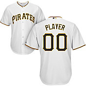 Majestic Men's Full Roster Cool Base Replica Pittsburgh Pirates Home White Jersey