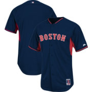 Majestic Men's Authentic Boston Red Sox Navy Cool Base Batting Practice Jersey