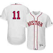 Majestic Men's Authentic Boston Red Sox Clay Buchholz #11 Alternate Home White Flex Base On-Field Jersey