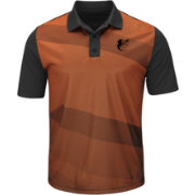 Majestic Men's Baltimore Orioles Cool Base Orange/Black Late Night Prize Polo