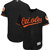 Majestic Men's Authentic Baltimore Orioles Alternate Black Flex Base On-Field Jersey