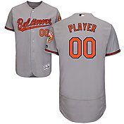 Majestic Men's Full Roster Authentic Baltimore Orioles Flex Base Road Grey On-Field Jersey