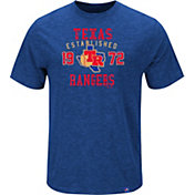 Majestic Men's Texas Rangers Cooperstown Royal T-Shirt