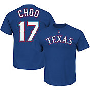 Majestic Triple Peak Men's Texas Rangers Shin-Soo Choo Royal T-Shirt