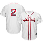 Majestic Men's Replica Boston Red Sox Xander Bogaerts #2 Cool Base Alternate Home White Jersey