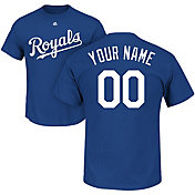 Majestic Men's Custom Kansas City Royals Royal T-Shirt