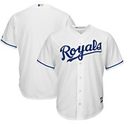 Majestic Men's Replica Kansas City Royals Cool Base Home White Jersey