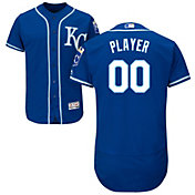 Majestic Men's Full Roster Authentic Kansas City Royals Flex Base Alternate Royal On-Field Jersey