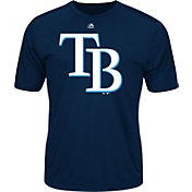 Majestic Men's Tampa Bay Rays Cool Base Navy Performance T-Shirt