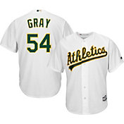 Majestic Men's Replica Oakland Athletics Sonny Gray #54 Cool Base Home White Jersey