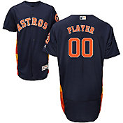 Majestic Men's Full Roster Authentic Houston Astros Flex Base Alternate Navy On-Field Jersey