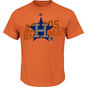 Majestic Men's Houston Astros Yearlong Journey Orange T-Shirt