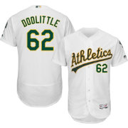 Majestic Men's Authentic Oakland Athletics Sean Doolittle #62 Home White Flex Base On-Field Jersey