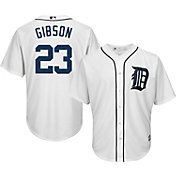 Majestic Men's Replica Detroit Tigers Kirk Gibson #23 Cool Base Home White Jersey