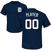 Majestic Men's Full Roster Detroit Tigers Navy T-Shirt