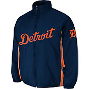 Majestic Men's Detroit Tigers Double Climate On-Field Navy Jacket