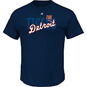 Majestic Men's Detroit Tigers Last Rally Navy T-Shirt