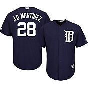 Majestic Men's Replica Detroit Tigers J.D. Martinez #28 Cool Base Alternate Navy Jersey